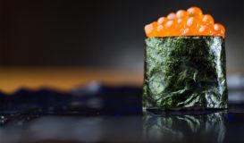 Gunkan-maki Kaviar Ikura